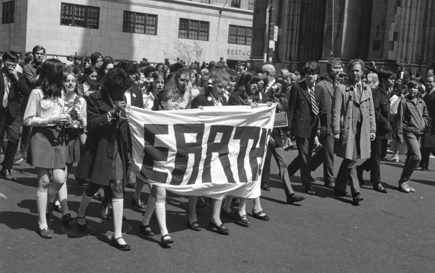 Earth Day 1970 - March on NYC's 5th Avenue